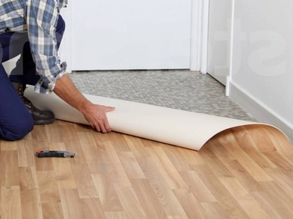 Как правильно стелить линолеум на бетонный пол