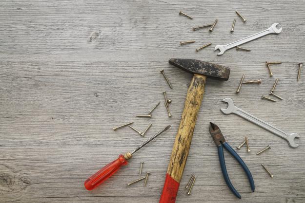 Инструменты для укладки мягкой черепицы