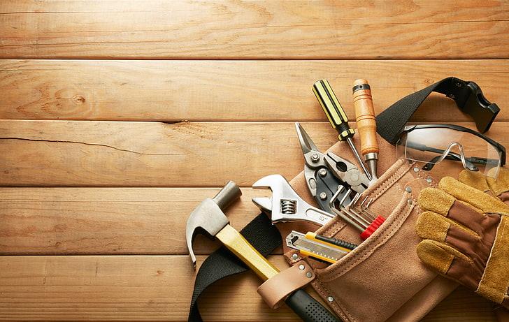 Материалы и инструменты для укладки плитняка