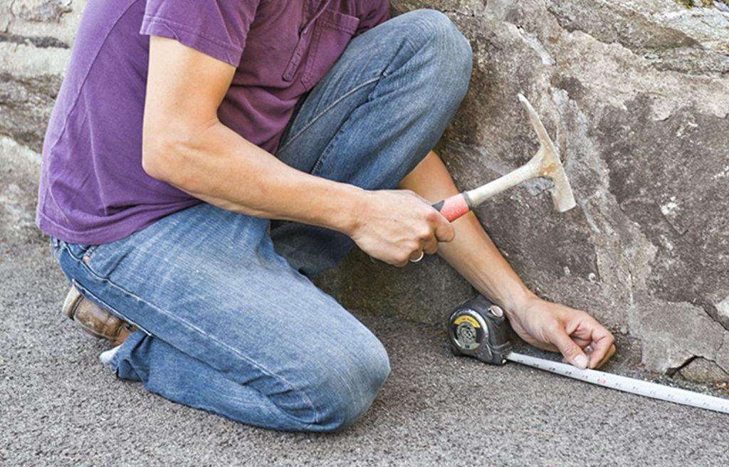 Как укрепить асфальтовую крошку