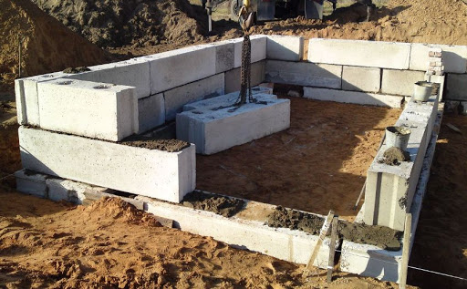 Строительство фундамента из блоков фбс пошаговая инструкция