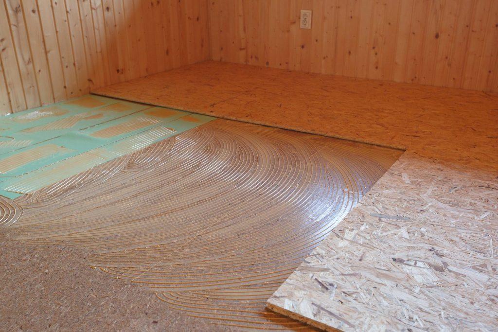 Укладка ОСБ на деревянный пол под линолеум