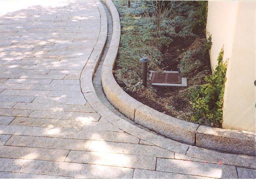 Установка бордюров для тротуарной плитки